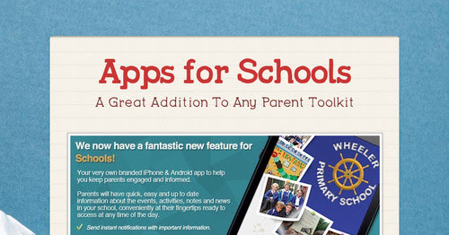 Apps for Schools