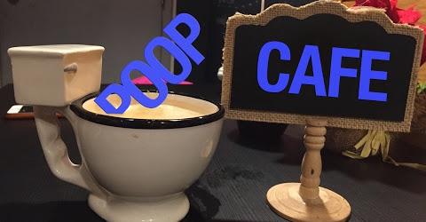 Toronto Travel - Cuộc sống Toronto - Toronto Poop Cafe - Quán cà phê Toilet