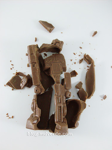Transformers Chocolate Optimus Prime G1