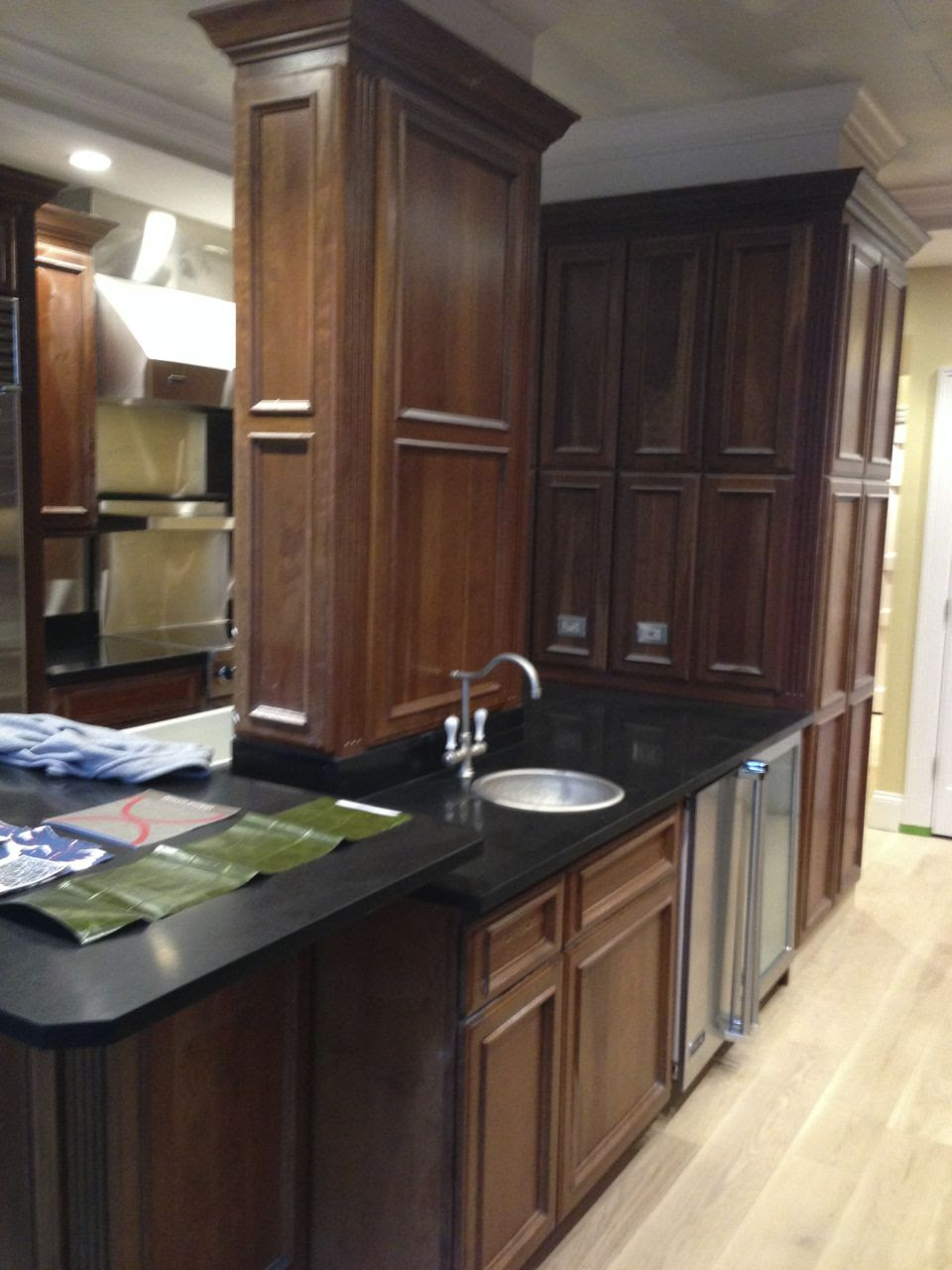 Painting Wood Cabinets - Creating a Bold New Look for a ...