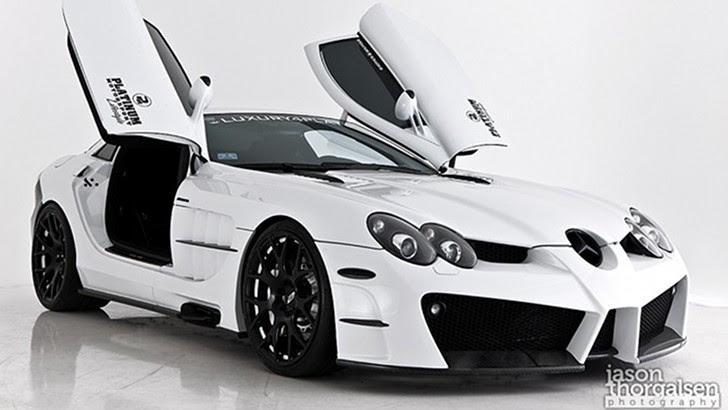 Platinum Motorsport SLR777: World's Fastest Mercedes-Benz ...