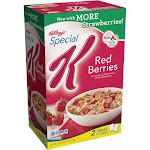 Kellogg's Special K Red Berries Cereal - 43 oz box