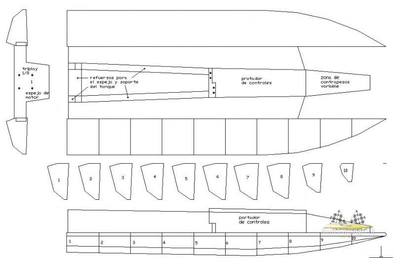 Easy for Boatp Plans: rc boat catamaran hull plans
