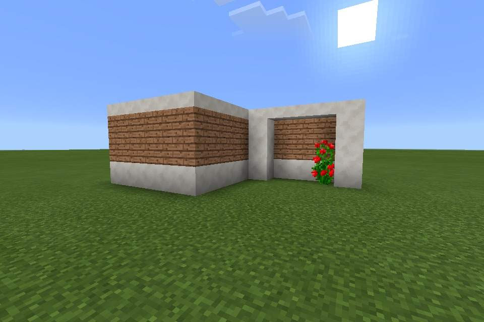 My small modern house (MCPE) | Minecraft Amino