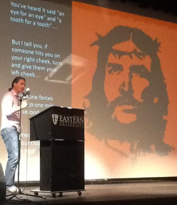 "(Dr. Paul Alexander describes ""Che Guevara Jesus' third way."" Credit: IRD)"