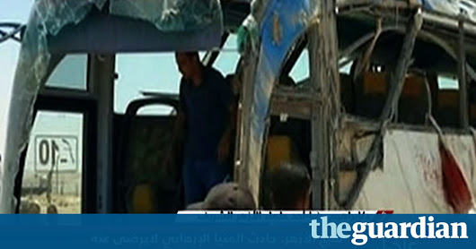 Gunmen kill 26 in latest attack on Coptic Christians in Egypt | World news | The Guardian