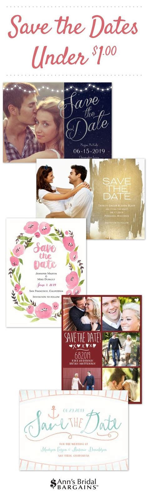 Save the dates under a $1   Affordable Save The Dates
