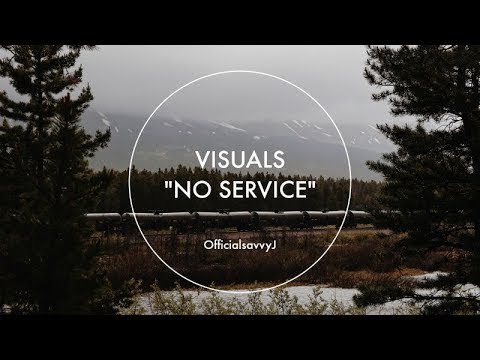 "NEW YOUTUBE VIDEO! VISUALS - ""NO SERVICE."""