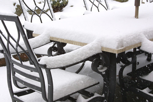 Yes, it snows in Seattle!