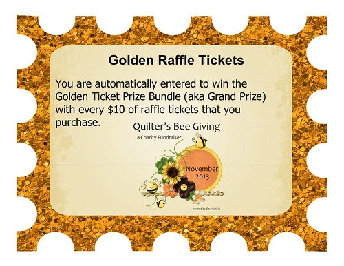 raffle tickets for the quilters bee giving charity fundraiser_2-003