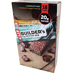 Clif Builder's Variety Pack - Protein bar - pack of 18