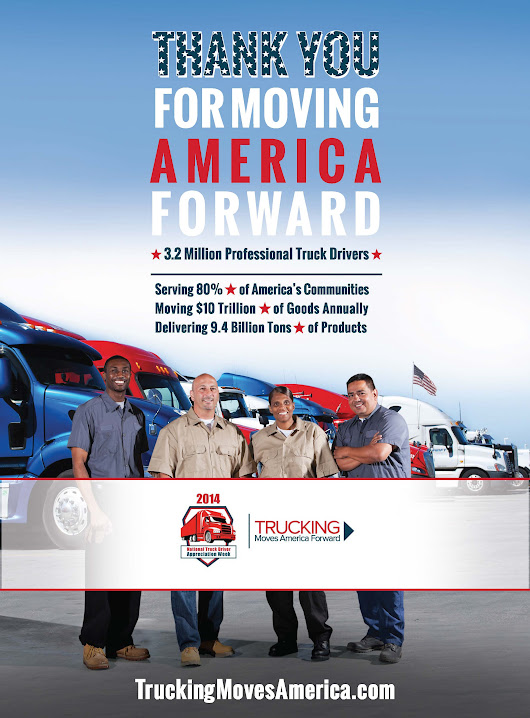 NATIONAL TRUCK DRIVER APPRECIATION WEEK - Trucking Moves America