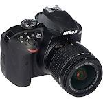 Nikon D3400 24.2 MP Digital SLR Camera - Black - AF-P DX 18-55mm VR Lens