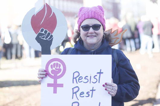 Photo-gallery Women's March January 20, 2018 Annapolis Maryland - The Arundel Patriot