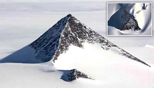 Third Snowy Pyramid Recently Discovered in Antarctica Could Rewrite History