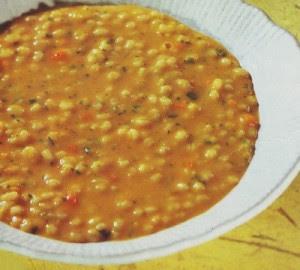 minestra di orzo e zucca,zucca,orzo,minestra,ricette,carote