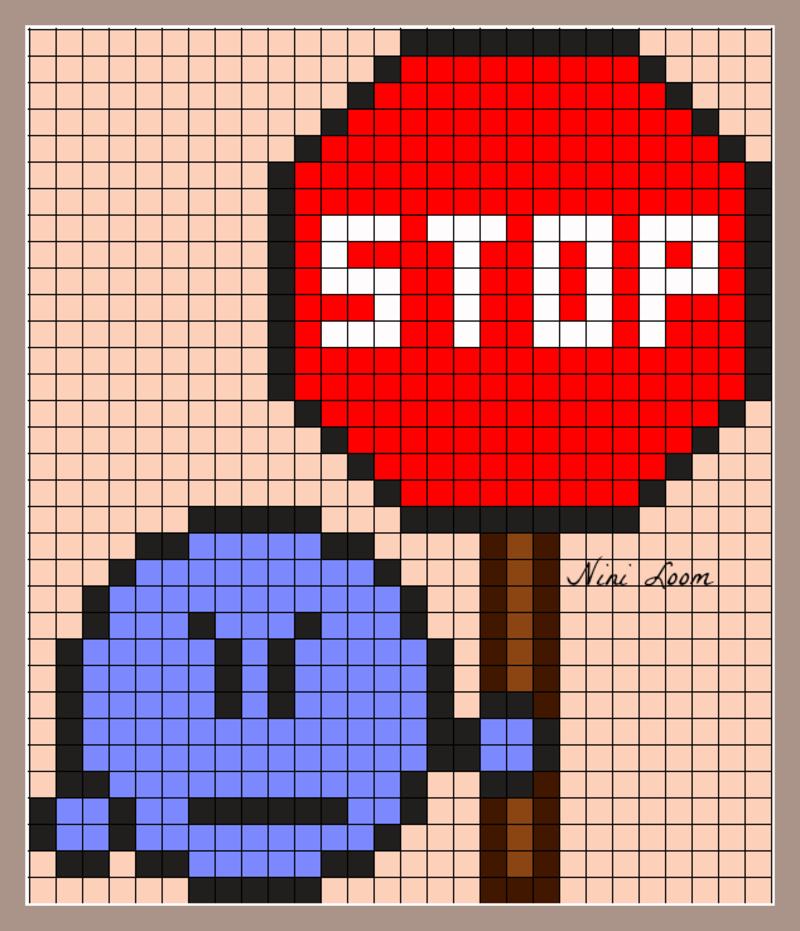 Art Dessin Pixel Art Facile Mignon