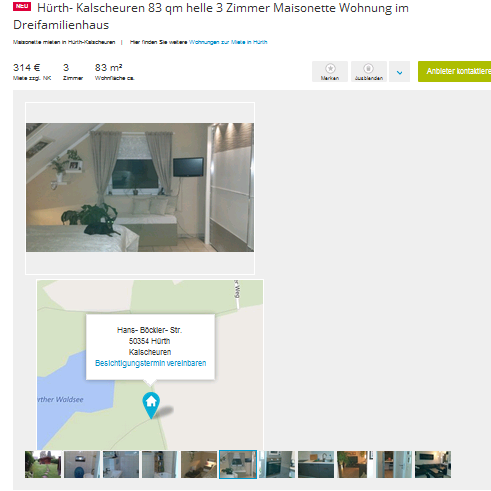 alias krueger katja h rth kalscheuren 83 qm helle 3 zimmer. Black Bedroom Furniture Sets. Home Design Ideas