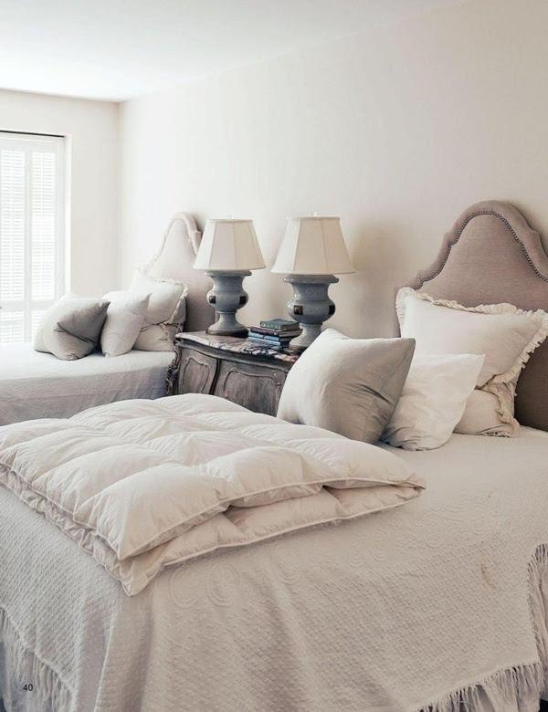 ♅ Dove Gray Home Decor ♅    bedroom