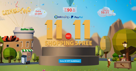 11.11 Up to 90% OFF & gadgets as low as $0.11
