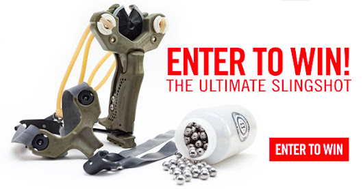 I just entered to win this awesome survival slingshot for free!