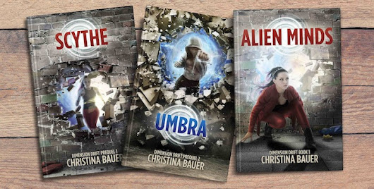 Cover Reveal: Umbra (Dimension Drift #2) by Christina Bauer @CB_Bauer