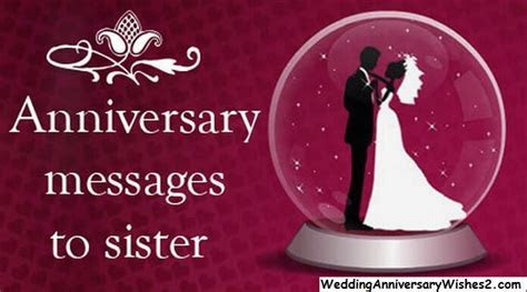 #100 Wedding Anniversary Wishes, Messages, Quotes for Sister