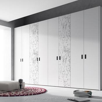 Latest wardrobe door design sliding mirror wardrobe