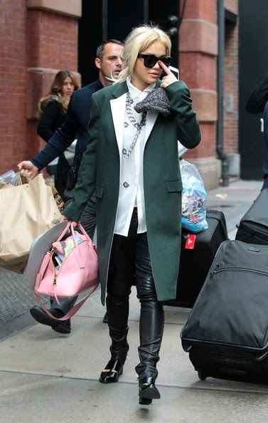 FOR USA SALES: Contact Randy Bauer (310) 910-1113 bauergriffinsales@gmail.com.FOR UK SALES: Contact Caroline 44 207 431 1598 MUST BYLINE: EROTEME.CO.UK.Rita Ora leaves her hotel in Soho New York.