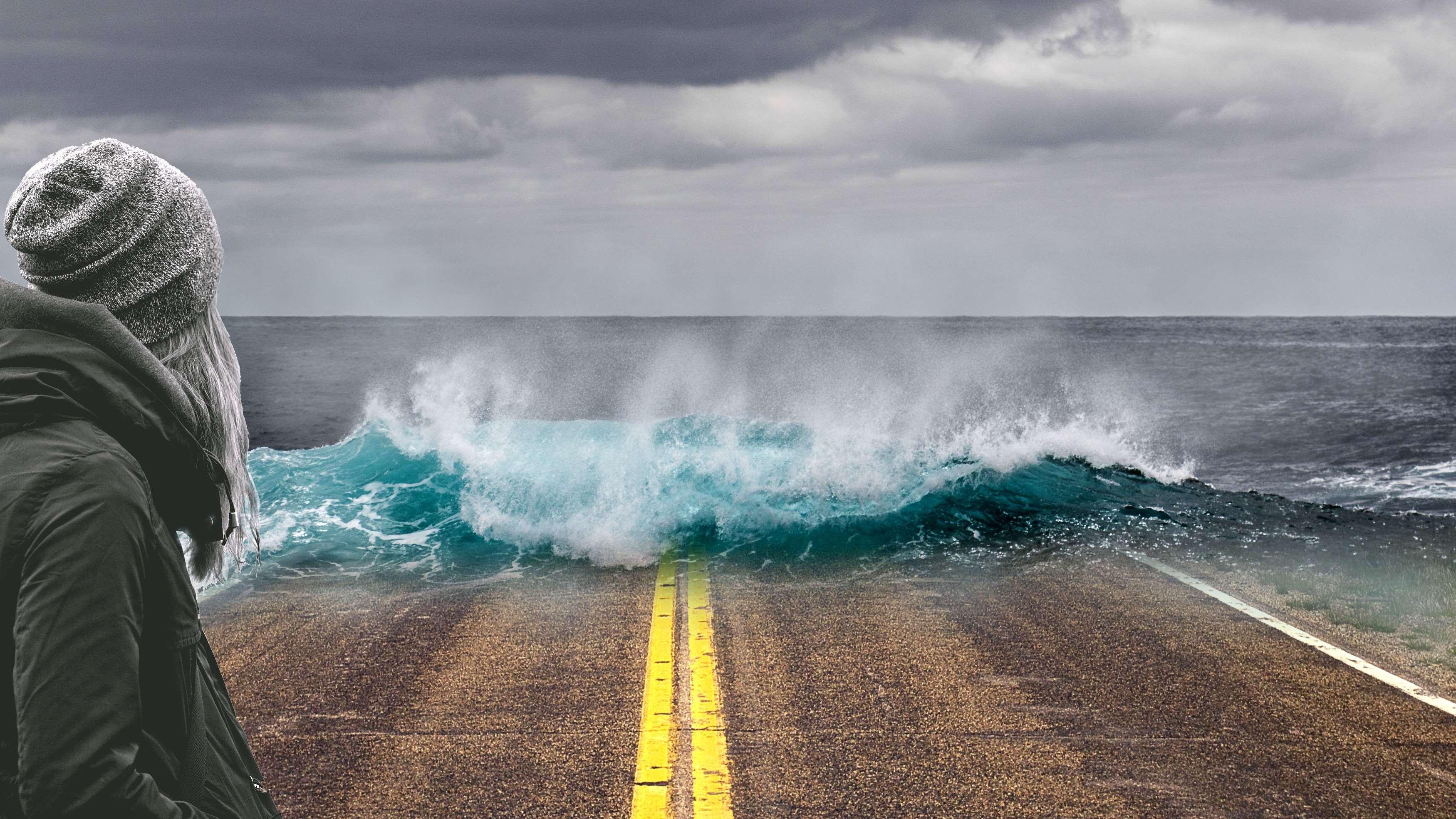 Αποτέλεσμα εικόνας για california falling into the ocean