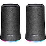 Soundcore Flare Portable Bluetooth 360° Speaker - 2 pack