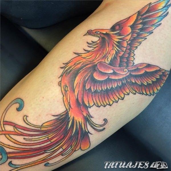 Tatuajes De Ave Fénix Para Hombres Tatuajes 123