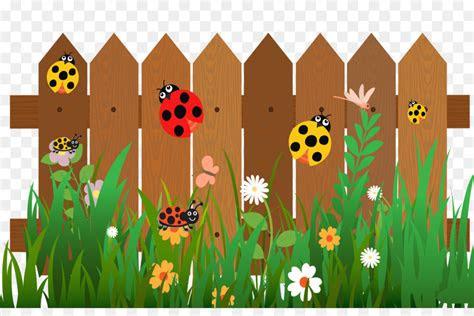 fence cartoon ladybird   star ladybug