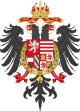 Middle Coat of Arms of Rudolf II, Matthias and Ferdinand II, Holy Roman Emperors.svg