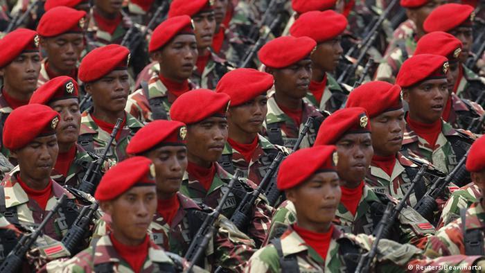 Indonesien Kopassus Elite Armee Einheit (Reuters/Beawiharta)