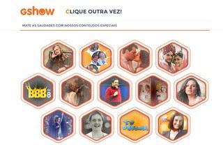 Portal GShow (Foto: Divulgação/TV Globo )