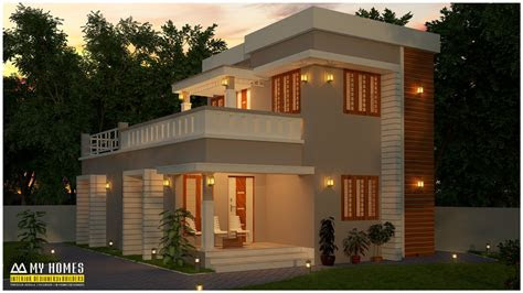 small budget house plan  kerala