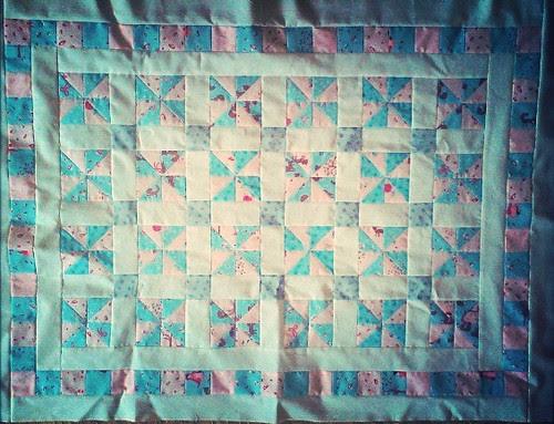 Amelie's quilt top complete