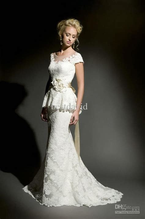 mermaid wedding dresses with sleeves   Wholesale Cheap