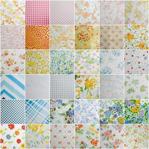 Vintage Sheets by jenib320