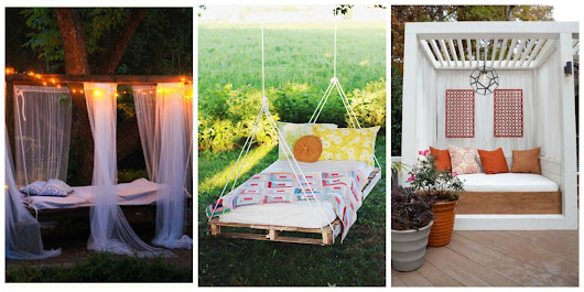 12 Dreamy Outdoor Bedrooms to Inspire Summer Slumber