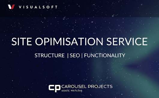 Visualsoft Site Optimisation Service | SEO & Website Problem Solving | Carousel Projects