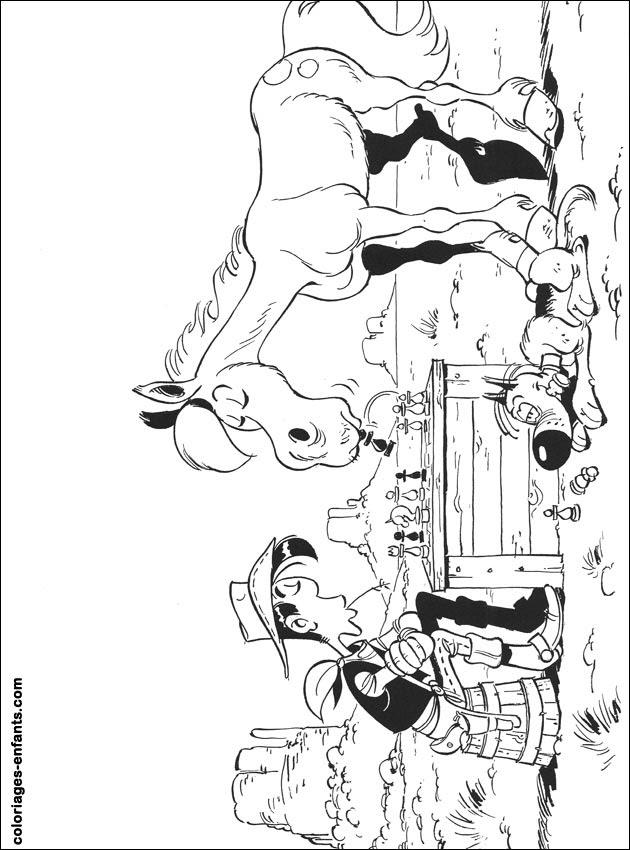 Les Coloriages De Cowboys à Imprimer Sur Coloriages Enfantscom