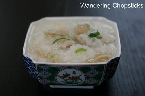 Chao Oc (Vietnamese Rice Porridge with Clams) 3