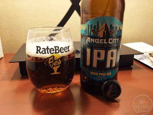 Angel City IPA by Angel City Brewery - #OTTBeerDiary Day 397