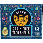 Siete - Taco Shells Grain Free - Case Of 12 - 5.5 Oz