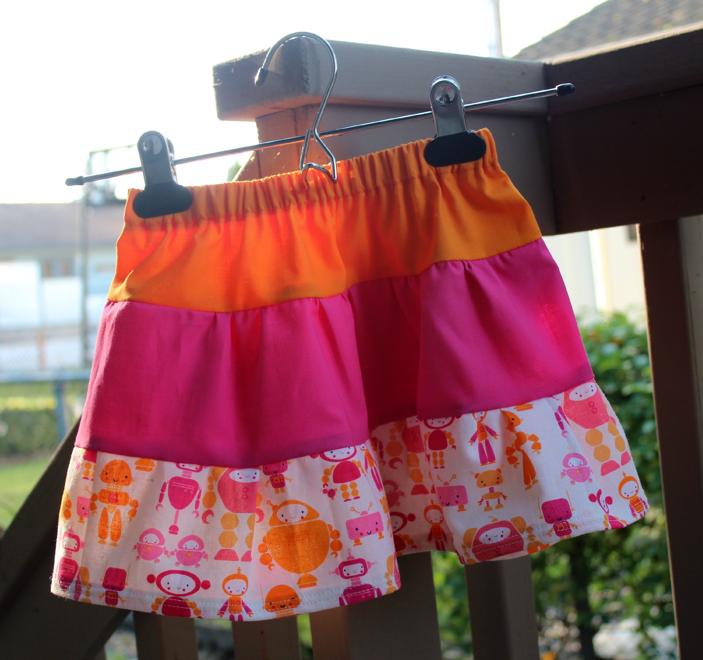 Basic 3 Tiered Skirt (size 2T)