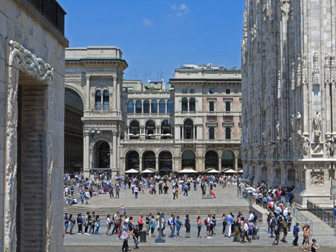 Travel Europe - Visit Milan Italy