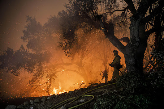 The inferno that won't die: How the Thomas fire became a monster