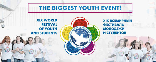 Applications Open for 19th World Festival of Youth and Students is to be held on October 14-22, 2017 in Sochi, Russia prolonged until 19 May 2017 !